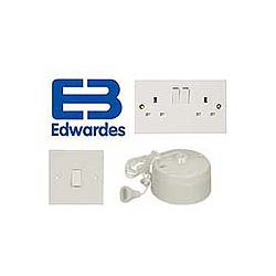 Budget Wiring Accessories - White