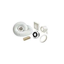 In Line Shower Fan + Light Kits