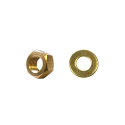 Brass Washers and Nuts