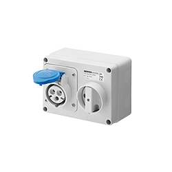 INDUSTRIAL EURO SWITCHED INTERLOCKED SOCKETS