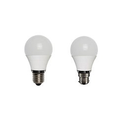 LED GLS Style Pearl Non Dimmable Cool White Lamps