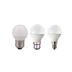 LED 45mm Opal Non Dimmable Warm White Round Lamps