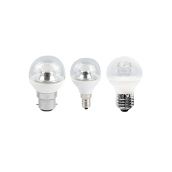 LED 45mm Clear Non Dimmable Warm White Round Lamps