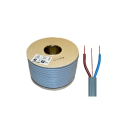 Twin and Earth Grey PVC Cables (6242Y)