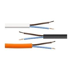 Standard PVC 2 Core Circular Flex 2182Y and 3182Y