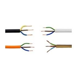 Standard PVC 3 Core Circular Flex 2183Y and 3183Y