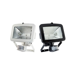 Halogen - PIR Sensor Halogen Floodlighting