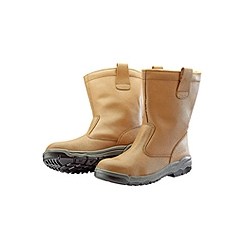 Riggers Boots Fur Lined