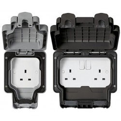 MK Masterseal Plus IP66 Sockets