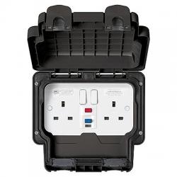 MK Masterseal Plus IP66 RCD Sockets