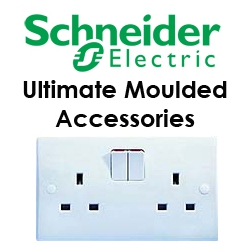 Schneider GET Ultimate White Plastic Accessories