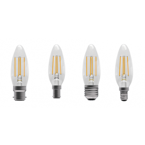 LED Filament Dimmable Candle Lamps
