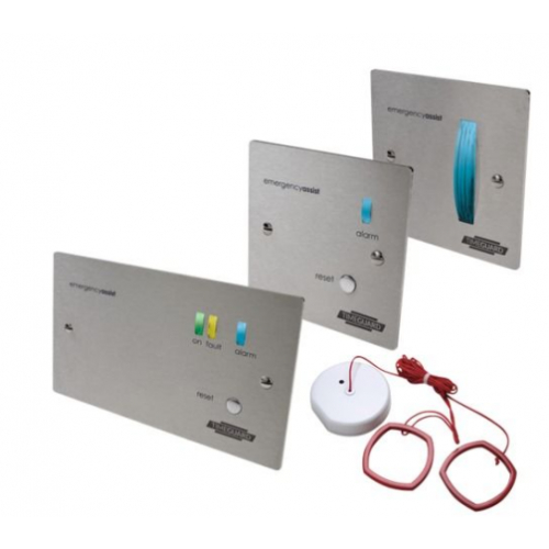 Timeguard Emergency Assist Complete Kits - Stainless Steel