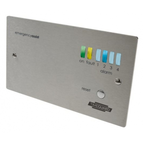 Timeguard Emergency Assist Alarm Panels - Stainless Steel