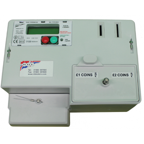 Slot and Credit Meters