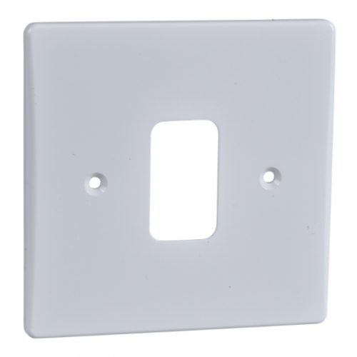 Ultimate Grid Plates Screw Type White Plastic