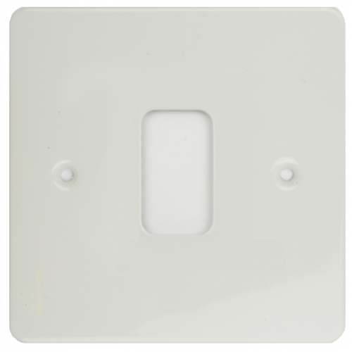 Ultimate Grid Plates Screw Type Painted White