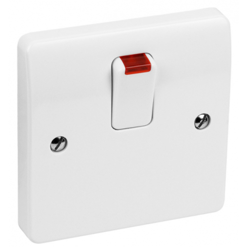 MK Plate Switches - Double Pole