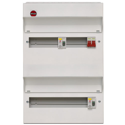 New NM Metal High Integrity Large Way Consumer Units