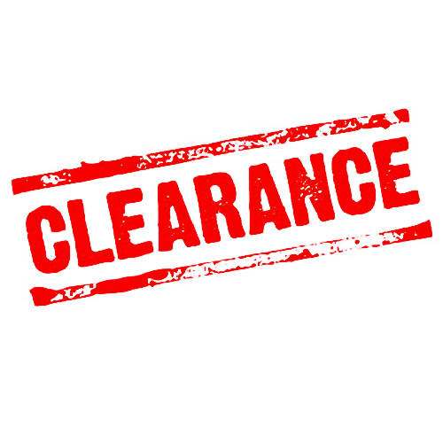 Clearance Tools and Test Equipment