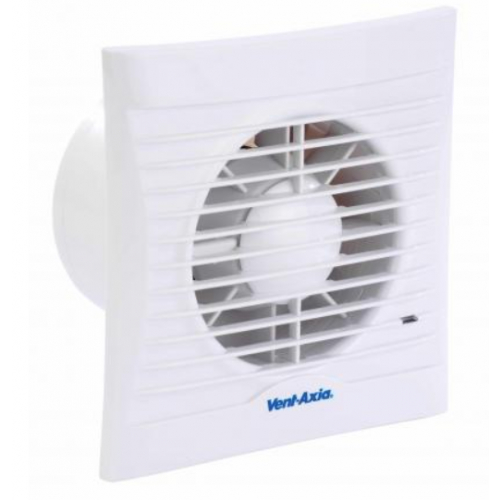 Vent Axia Silhouette 100mm And 150mm Extract Fans