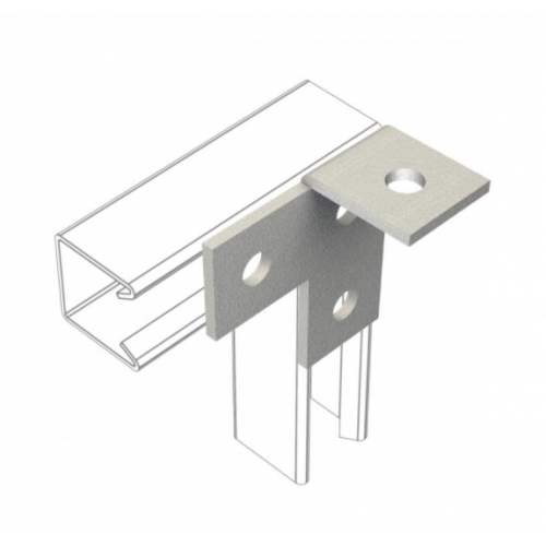 Channel Bracketry for 41x41mm and 41x21mm