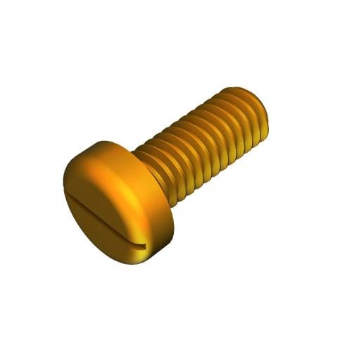 M4 Machine Screws Brass