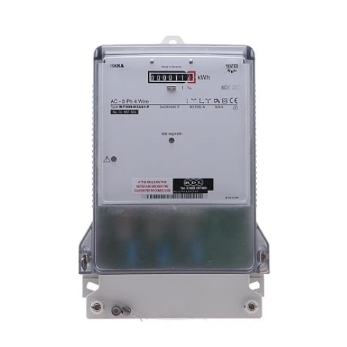 Three Phase Electronic Credit Meter