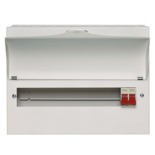 Wylex Metal 100a DP Main Switch Consumer Units
