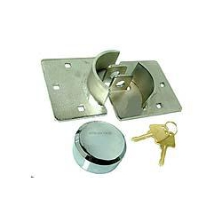 CK Tools Kasp K50073 Van Door Lock & Hasp with 2 Keys and Fixing Bolts