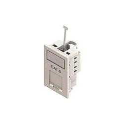 Bownet CWC-2611 CAT6 50x25mm Euro Data 1 Module wide