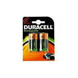 Duracell HR14 PK2 C Rechargeable batteries Pack of 2