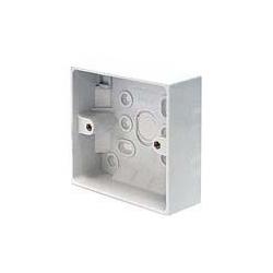 CED PB32/1 1gang 32mm plastic surface pattress mounting box