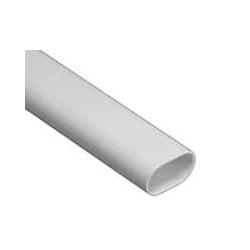 Schneider Mita OVL32W 32mm White PVC Oval Conduit 3m Length
