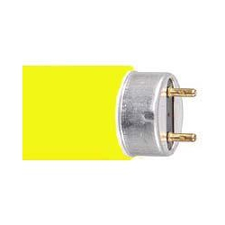 AVSL T8 Coloured sleeve for 25mm x 600mm tube in Vibrant Yellow