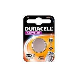 Duracell DL2032 3 volt lithium battery PACK=2