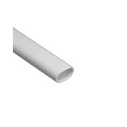 Schneider Mita OVL16W 16mm White PVC Oval Conduit 3m Length