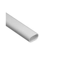 Schneider Mita OVL25W 25mm White PVC Oval Conduit 3m Length