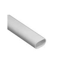 Schneider Mita OVL20W 20mm White PVC Oval Conduit 3m Length