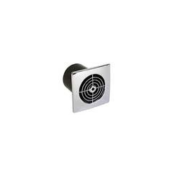Manrose PEF LP100SSC 100mm Low Profile Standard Chrome Square Fan