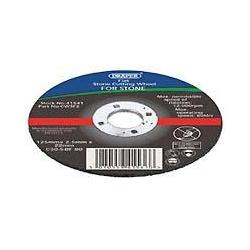 Draper 41540 flat 115 x 2.5mm cutting disc for Stone