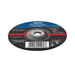 Draper 41521 domed 115 x 6.0mm grinding wheel for Metal