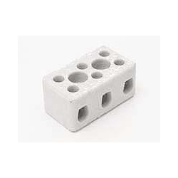 Norslo PC153 15amp 3 Pole Porcelain Connector Block