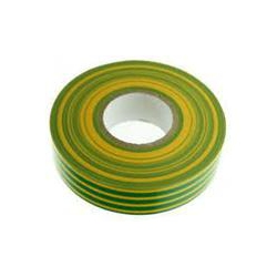 Unicrimp 1933YG 19mm x 33 Metre Green & Yellow Insulation Tape