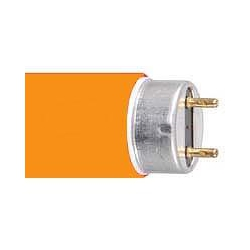 AVSL T8 Coloured sleeve for 25mm x 1200mm tube in Sunburst Orange