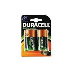 Duracell HR20 PK2 D Rechargeable batteries Pack=2