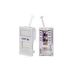 Bownet CWC-2501 CAT5E 50x25mm Euro Data 1 Module wide