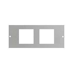 Britmac GB3EURO/BG 2x50x50mm Euro Module Accessory plate for 3 comp.