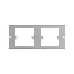 Britmac GB3J3/BG Plate to accept 2x1gang wiring accessories