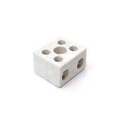 Norslo PC52 5amp 2 Pole Porcelain Connector Block